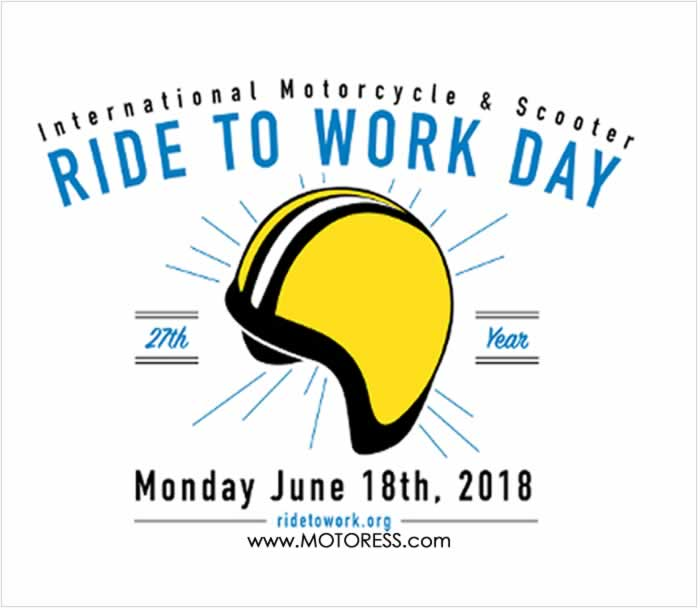 Ride To Work Day 2018 - MOTORESS