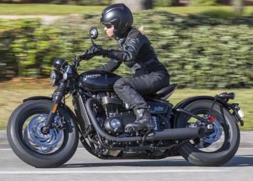 New Triumph Bonneville Bobber Black