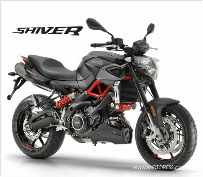 Aprilia Shiver 900 - The MOTORESS