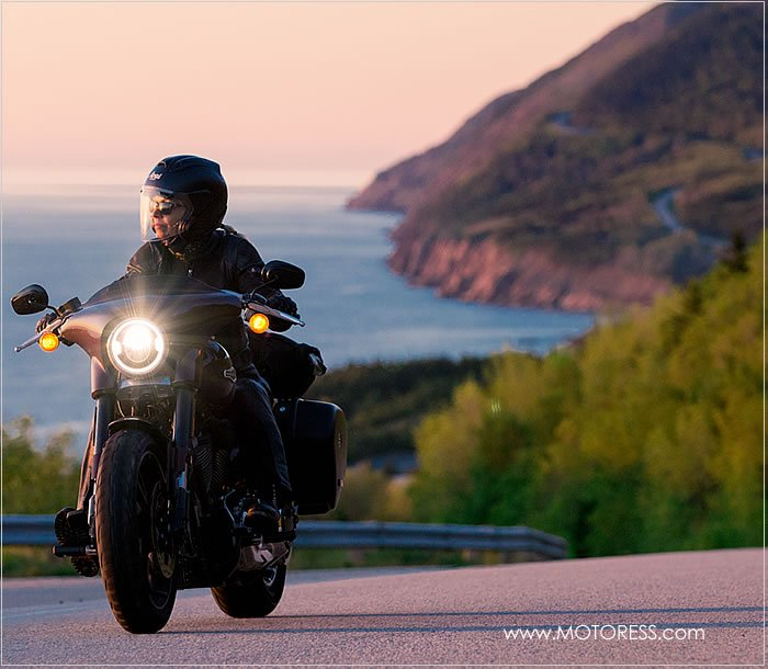 Captivating Cabot Trail - Vicki Gray The MOTORESS