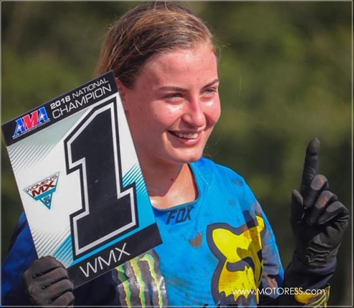 Jordan Jarvis Wins 2018 WMX Title - MOTORESS