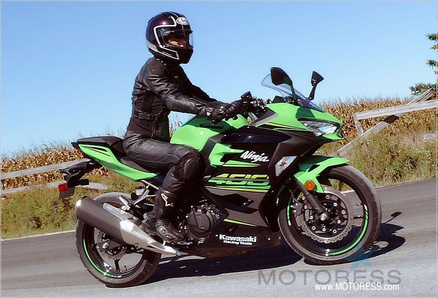 Kawasaki Ninja 400 Racing Team Edition Krt Ride Review Woman