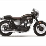 Kawasaki W800 Cafe Motorcycle Throwback to 1960s Original Kawa W1 Big Bike