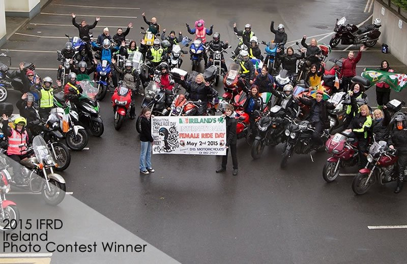 2015 IRELAND International Female Ride Day Gallery on MOTORESS