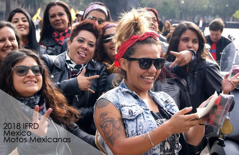 MEXICO International Female Ride Day Gallery on MOTORESS