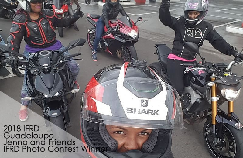 Guadeloupe International Female Ride Day Gallery on MOTORESS