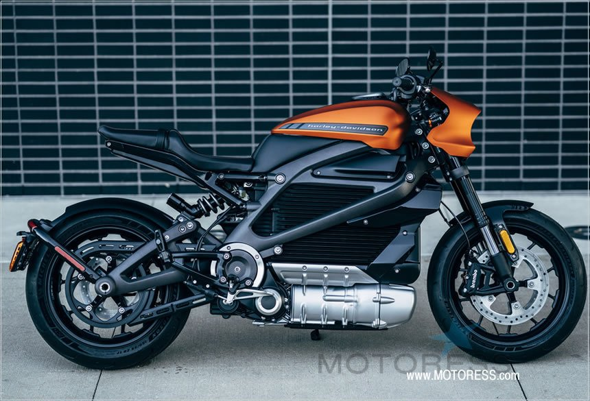 Harley-Davidson LiveWire Electric-Powered Motorcycle - The MOTORESS