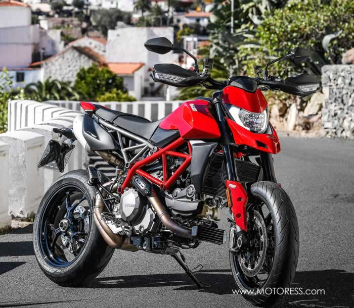 Ducati Hypermotard 950 More Rider-Friendly - The MOTORESS
