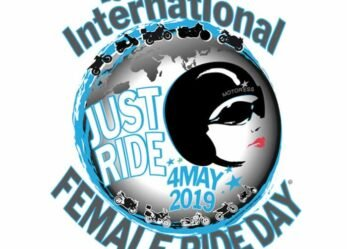 2019 International Female Ride Day Logo For 13th Edition of Worldwide Women's Motorcycle Ride Day