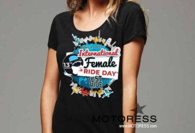Put It On and Just Ride! The 2019 International Female Ride Day T-Shirt