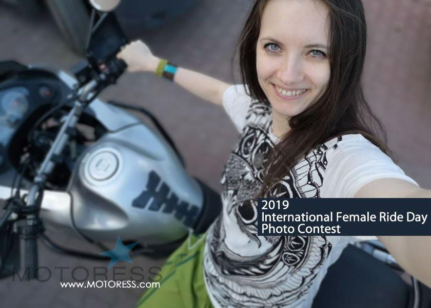 2019 International Female Ride Day Contest - MOTORESS