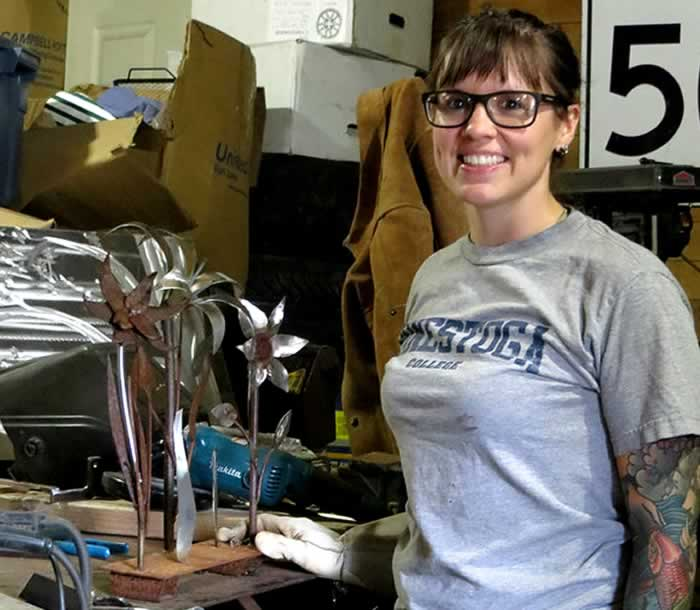 Joyce Morgan Joy's Metal Work- MOTORESS