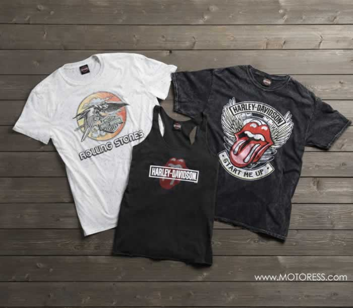 Harley-Davidson And The Rolling Stones Apparel - The MOTORESS