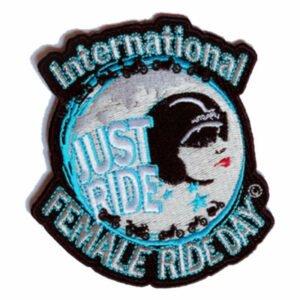International Female Ride Day Patch