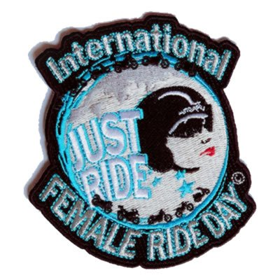 International Female Ride Day Patch