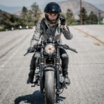 Roland Sands Mia Women's Motorcycle Jacket in Gunmetal, Black or Brown