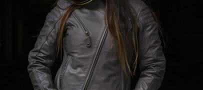 Roland Sands Mia Women's Motorcycle Jacket in Gunmetal, Black or Brown
