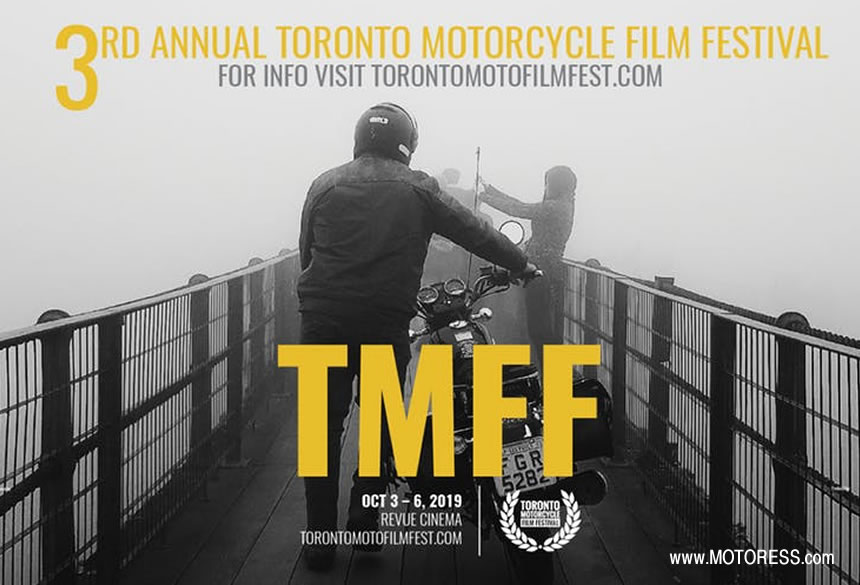 Toronto Motorcycle Film Fest - MOTORESS