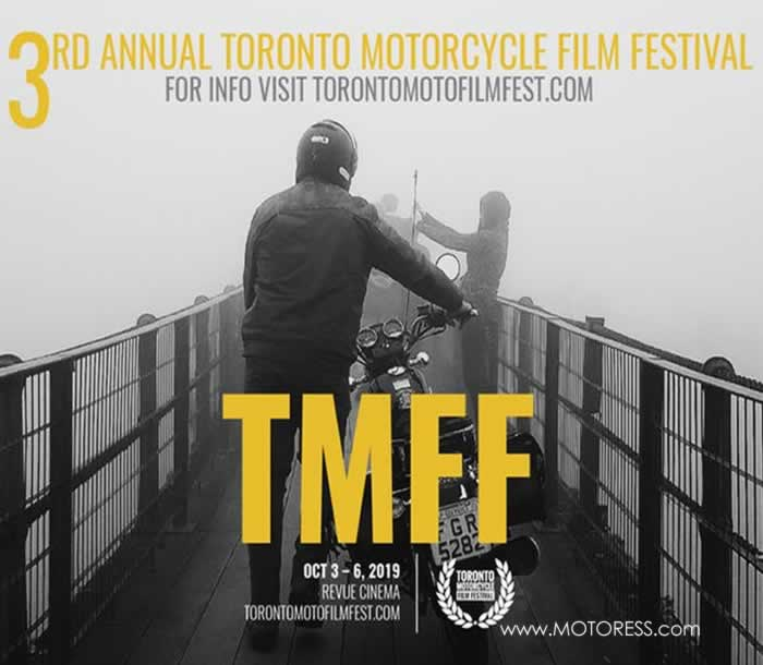 Toronto Motorcycle Film Fest - MOTORESS