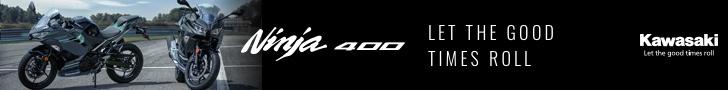 Kawasaki Ninja 400 - Style Matters!