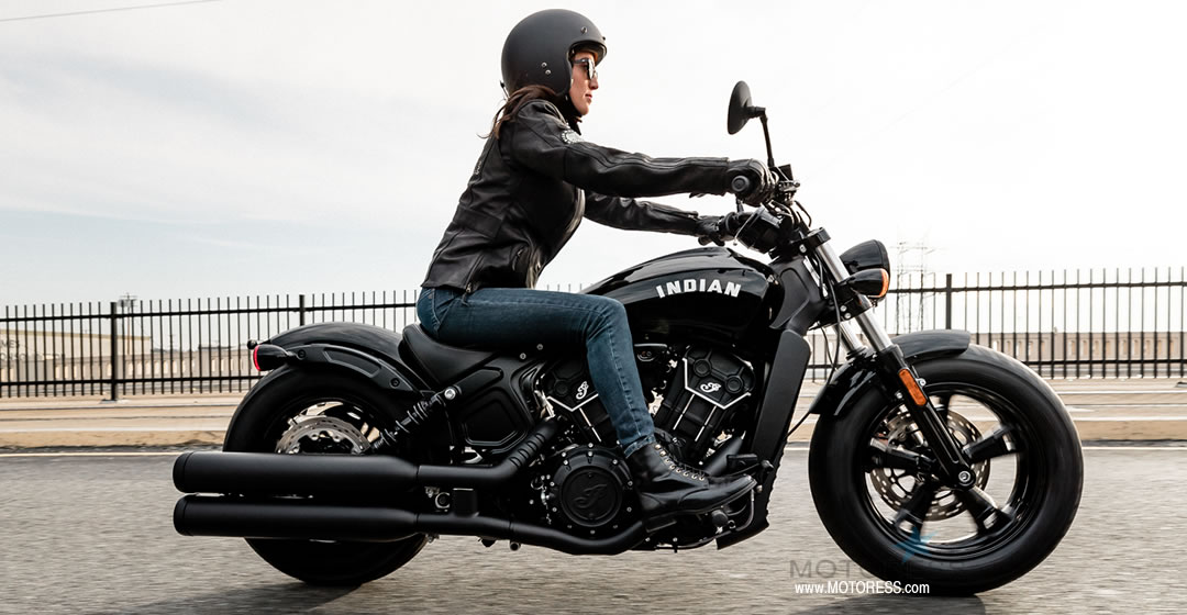 Indian Scout Bobber Sixty - MOTORESS