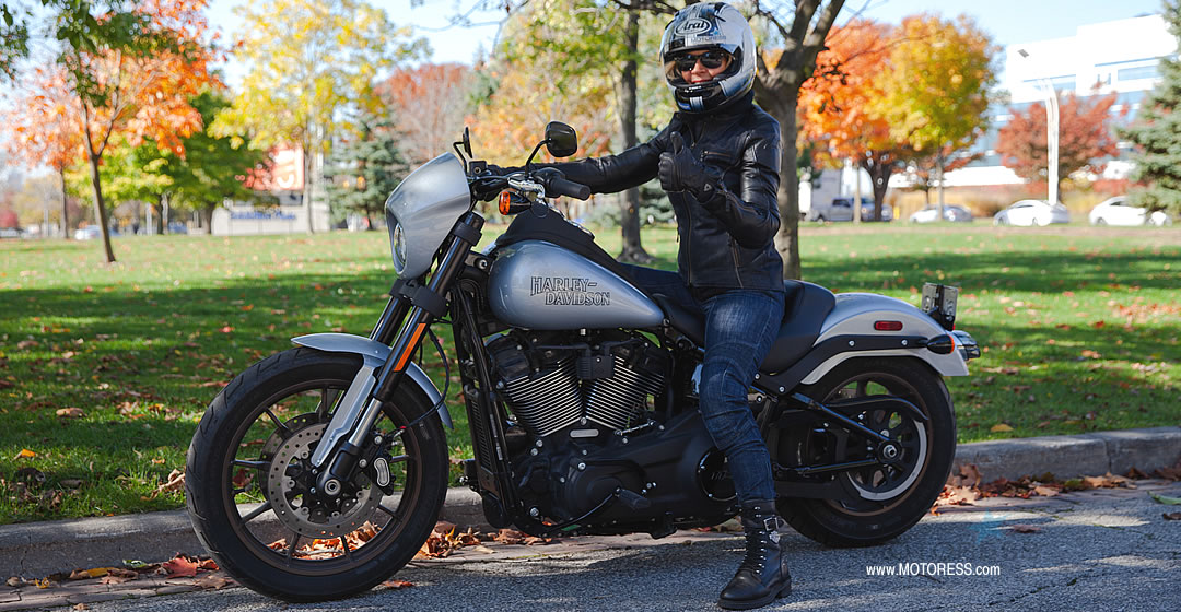 Harley-Davidson Low Rider S - MOTORESS Vicki Gray